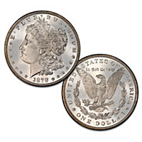 The Rare 1878 Variety Morgan Silver Dollar Coin