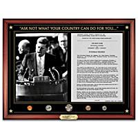 The JFK Inaugural Address Wall Decor