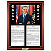 President Obama Inaugural & Farewell Addresses Wall Decor