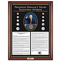 Donald Trump Inaugural Address Wall Decor