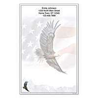 God Bless America Large Note Pads