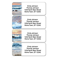 Footprints In The Sand Address Labels
