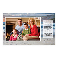 Footprints In The Sand Photo Insert Cards