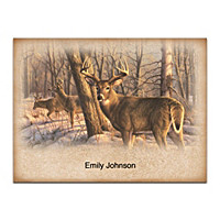 Winter Calm Folded Note Cards