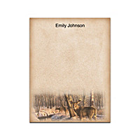 Winter Calm Small Note Pads