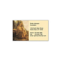 Jesus, Light Of The World Social Calling Cards