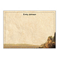 Jesus, Light Of The World Flat Note Cards