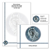 Spirit Of The Wilderness Personalized Stationery