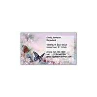 Lena Liu's Enchanted Wings Social Calling Cards