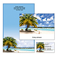 Tropical Paradise Personalized Stationery