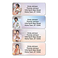 Remembering Elvis Address Labels