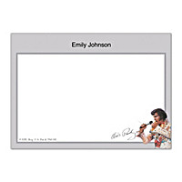 Remembering Elvis Flat Note Cards