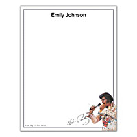 Remembering Elvis Small Note Pads