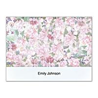Lena Liu's Floral Borders Folded Note Cards