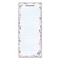 Lena Liu's Floral Borders List Note Pads