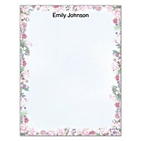 Lena Liu's Floral Borders Small Note Pads