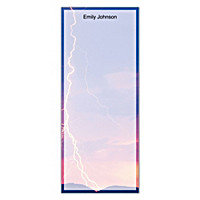 Lightning Strikes List Note Pads