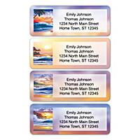 Hawaiian Sunsets Address Labels