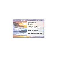 Hawaiian Sunsets Social Calling Cards