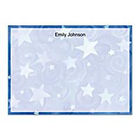 Shining Stars Flat Note Cards