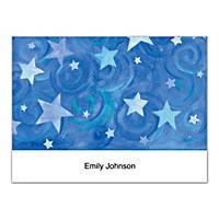 Shining Stars Folded Note Cards