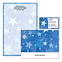 Shining Stars Personalized Stationery