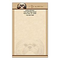 Faithful Friends - Shih Tzu Large Note Pads