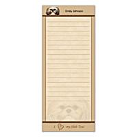Faithful Friends - Shih Tzu List Note Pads
