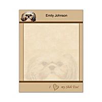 Faithful Friends - Shih Tzu Small Note Pads