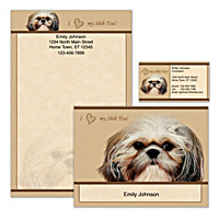 Faithful Friends - Shih Tzu Personalized Stationery