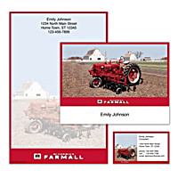Farmall Personalized Stationery