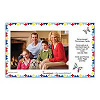 Autism: Imagine Photo Insert Cards