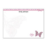 On The Wings Of Hope Flat Note Cards