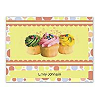 Cupcake Craze Folded Note Cards