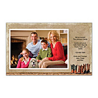 Cowboy Boots Photo Insert Cards