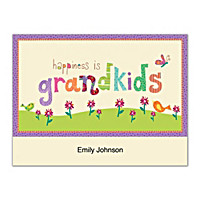Grandkids Rule! Folded Note Cards