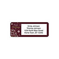 Holiday Celebrations Address Labels