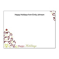 Holiday Celebrations Flat Note Cards