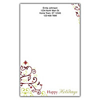 Holiday Celebrations Large Note Pads