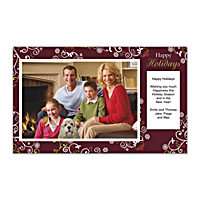 Holiday Celebrations Photo Insert Cards