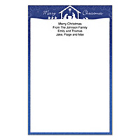Silent Night Large Note Pads