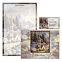 Valley Chapel Personalized Stationery