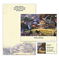 Cabin Escape Personalized Stationery