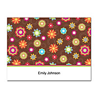 Floral Fun Folded Note Cards