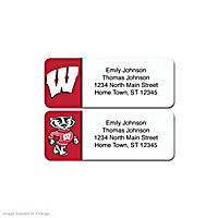 University of Wisconsin Address Labels