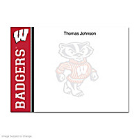 University of Wisconsin Flat Note Cards