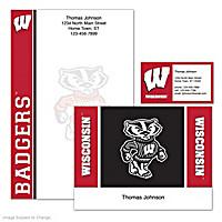 University Of Wisconsin Personalized Stationery