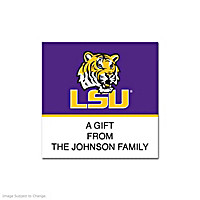 Louisiana State University Square Labels