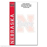 University of Nebraska Large Note Pads
