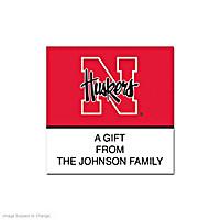 University of Nebraska Square Labels